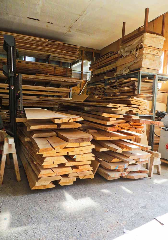 Holz - noch unbearbeitet