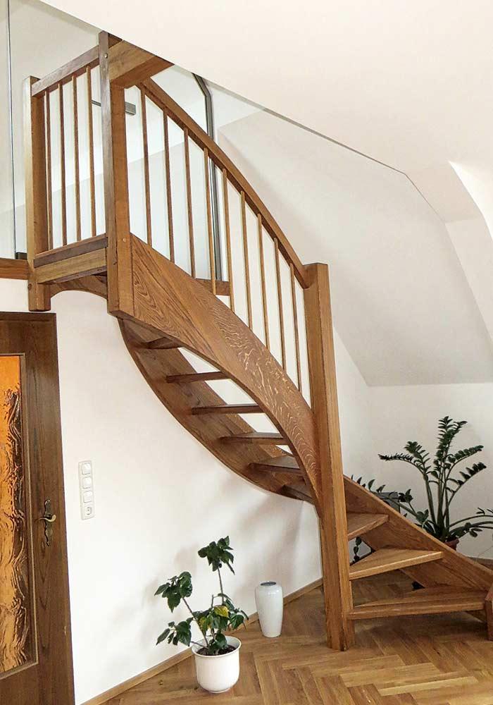 Treppe S-förmig